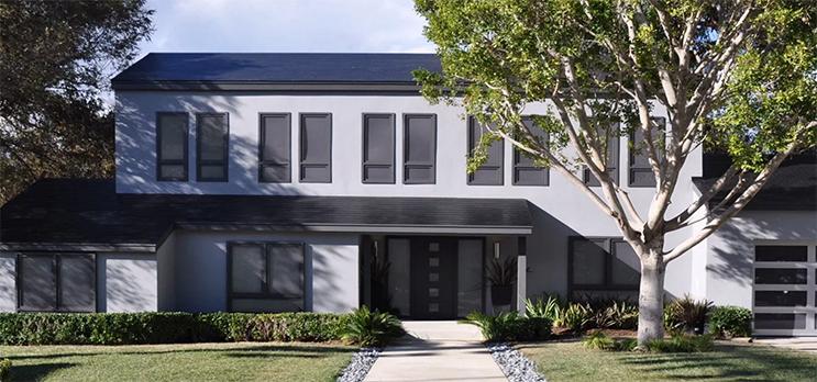 tesla solar roofing